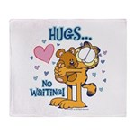 Hugs...No Waiting! Throw Blanket