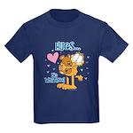 Hugs...No Waiting! Kids Dark T-Shirt