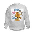 Hugs...No Waiting! Kids Sweatshirt