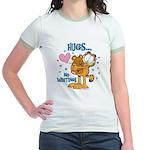 Hugs...No Waiting! Jr. Ringer T-Shirt