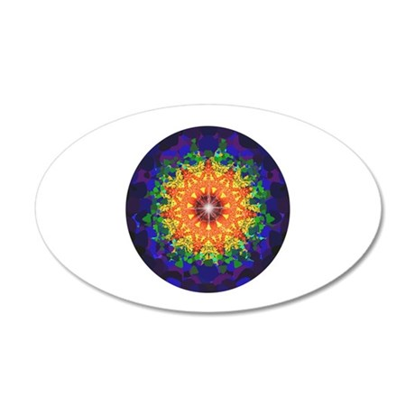 Psychedelic design Wall Decal