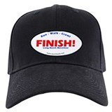 FINISH! Long Beach Marathon Baseball Hat