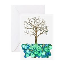 Lively Tree Greeting Card