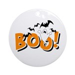 Boo Bats Ornament (Round)