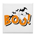 Boo Bats Tile Coaster