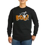 Boo Bats Long Sleeve Dark T-Shirt