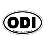 Old Dominion Industries ODI Oval Decal