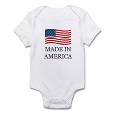 Made in America Infant Bodysuit