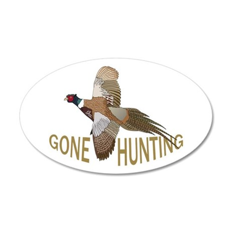 Gone Hunting Wall Decal