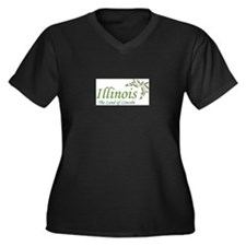 Illionois Plus Size T-Shirt
