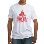 The Hive In Red Fitted T-Shirt