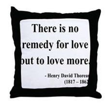 Henry David Thoreau 13 Throw Pillow