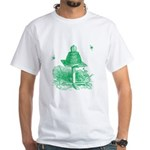 The Hive in Green White T-Shirt