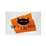 Trick or Treat Kitty Rectangle Magnet (10 pack)