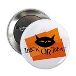 Trick or Treat Kitty Button