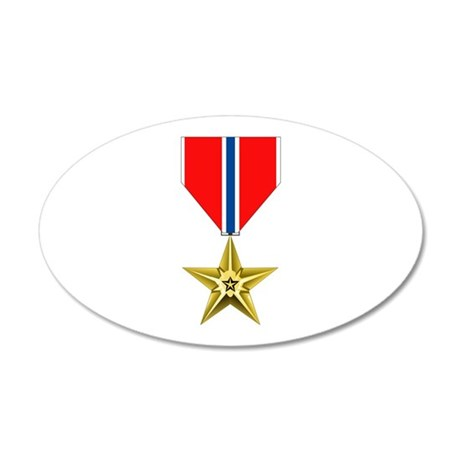 BRONZE STAR MEDAL Wall Decal