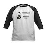 Henry David Thoreau 14 Kids Baseball Jersey