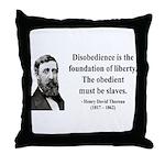 Henry David Thoreau 14 Throw Pillow