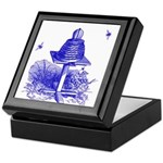 The Hive in Blue Keepsake Box