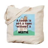Westie Home Tote Bag