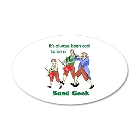 BAND GEEK Wall Decal