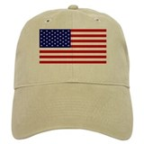 AMERICAN FLAG 2 Baseball Cap