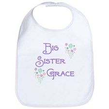 Big Sister Grace Bib