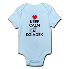 Keep Calm Call Dziadek Body Suit
