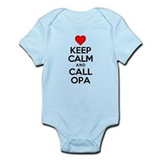 Keep Calm Call Opa Body Suit