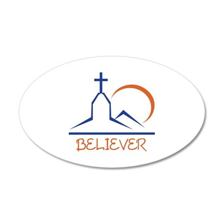 BELIEVER Wall Decal