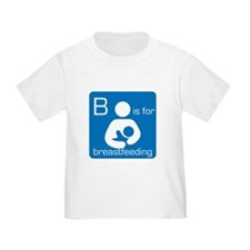 B is for breastfeeding T