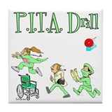P.I.T.A. Drill Tile Coaster
