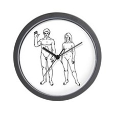 Nude Couple Wall Clock