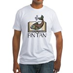 Fint Tan 1 Fitted T-Shirt