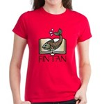 Fint Tan 1 Women's Dark T-Shirt