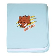 BEARS TEAM baby blanket