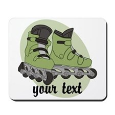 Personalized Rollerblade Mousepad