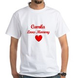 Camila Loves Mommy Shirt