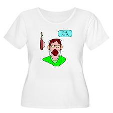 Radio DJ Plus Size T-Shirt