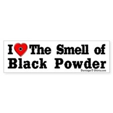 Smell of Black Powder Bumper Bumper Sticker