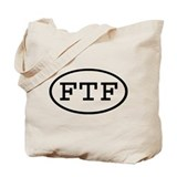 FTF Oval Tote Bag