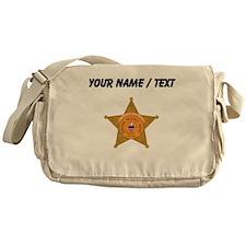 Deputy Sheriff Badge (Custom) Messenger Bag