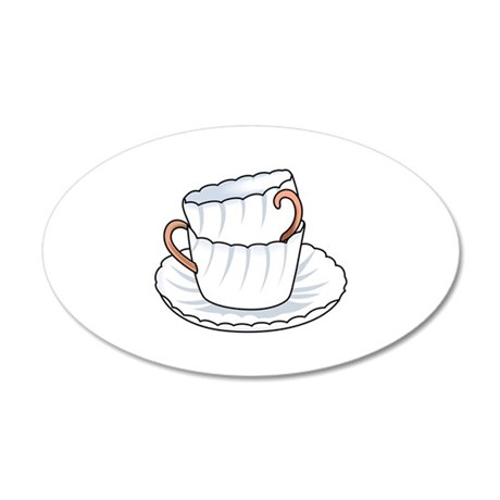 STACKED CUPS Wall Decal