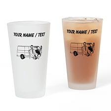Car Salesman (Custom) Drinking Glass