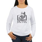 Fin Tan Rainbow Women's Long Sleeve T-Shirt