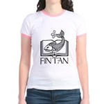 Fin Tan Rainbow Jr. Ringer T-Shirt