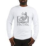 Fin Tan Rainbow Long Sleeve T-Shirt