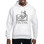 Fin Tan Rainbow Hooded Sweatshirt