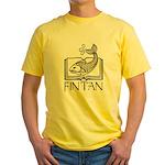 Fin Tan Rainbow Yellow T-Shirt
