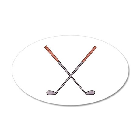 GOLF CLUBS Wall Decal